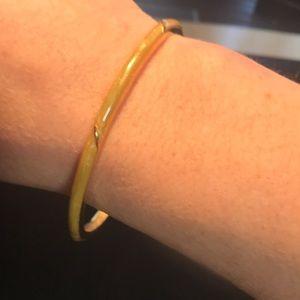 Jewelry - 🌟in a bundle only🌟Vintage yellow enamel bracelet